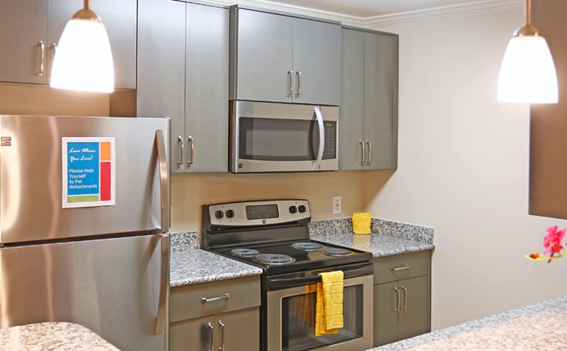 Spacious Kitchens At Laurel View Apartments in Concord, NC